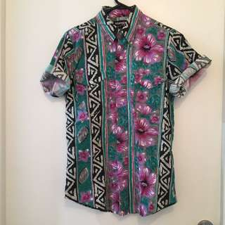 Slim Cut Wrangler Vintage Shirt