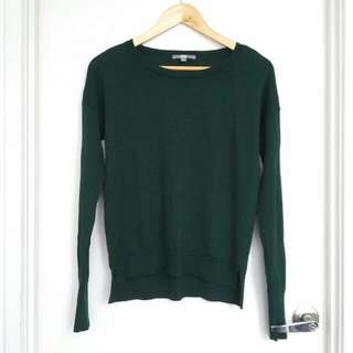 UNIQLO Emerald Green Wool Sweater- Size S