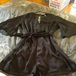 Black Supre Jumpsuit