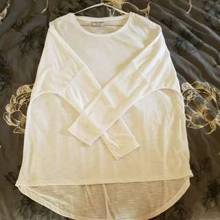 Oversized Long Sleeve Top