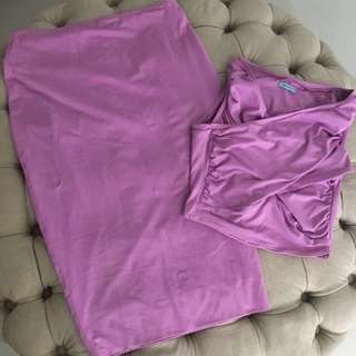 Kookai Top And Skirt