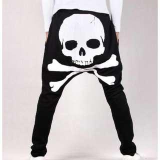 Baggy Skull Pants