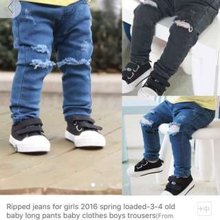 Ripped Jeans Kids