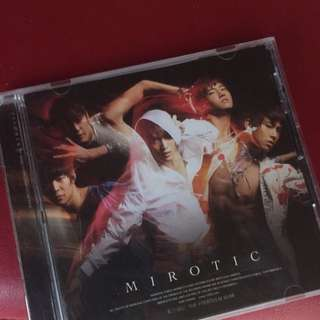 DBSK TVXQ Mirotic The Fourth Album