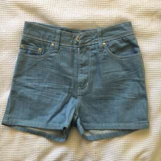 Lee High Waisted Shorts