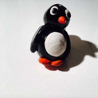Clay Handmade Penguin
