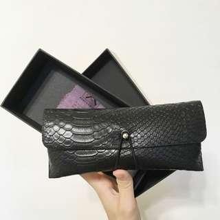 全新✨高檔皮製眼鏡盒