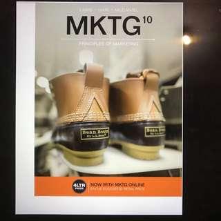 MKTG 10th Edition Online. Principles Of Marketing