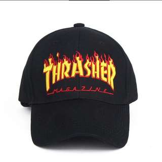BRAND NEW** Thrasher Hat *Black
