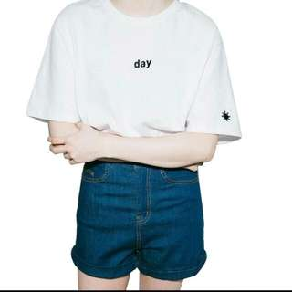 BRAND NEW** Day Tshirt *White