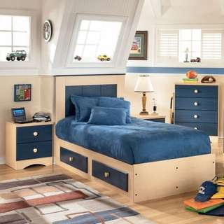 5 Piece Kids Bedroom Set
