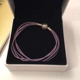 Genuine Pandora Bracelet In Purple