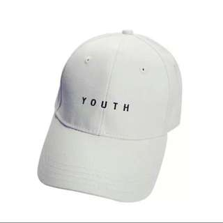 BRAND NEW** Youth Hat *White