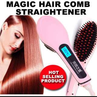Hair Comb/Hair Straightener/Ceramic Hair Brush