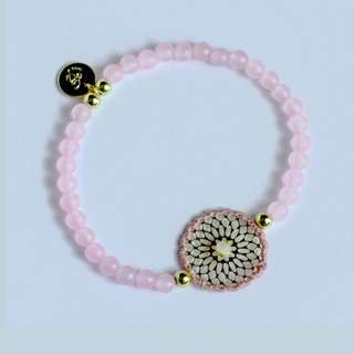 LES CLEIAS Pink Beads Dreamcatcher Bracelet