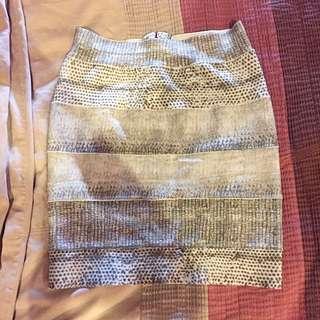 Bandage skirt from auria size xs