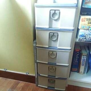5 Tier Storage Drawer