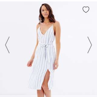 Delphine Stripe Dress