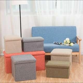 日式棉麻折疊收納椅 #運費我來出