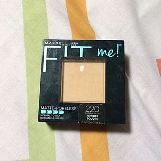 Maybelline Fit Me Matte+poreless Powder Shade 220