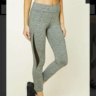 👍SALE F21 BNWT Active Marled Leggings SIZE M