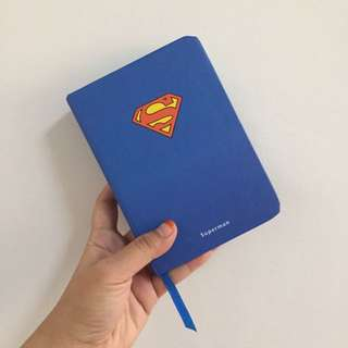 Hardcover Superman Notebook
