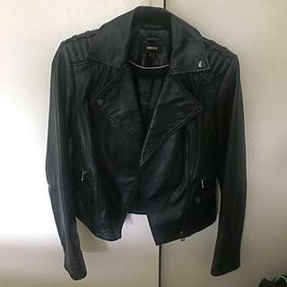 Genuine Leather Biker Jacket