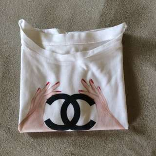 Chanel Inspired Crop Top