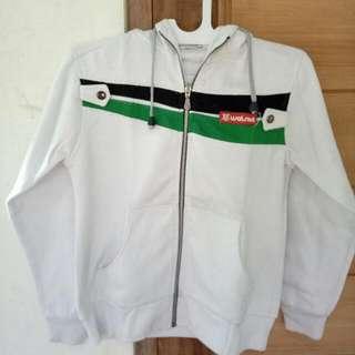 Jaket Putih Polos