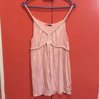 Mossimo Braided Strap Top
