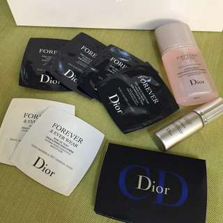 Dior試用集合囉