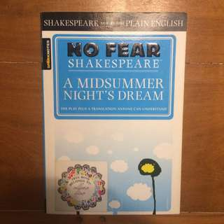A Midsummer Night's Dream (No Fear Shakespeare Version)