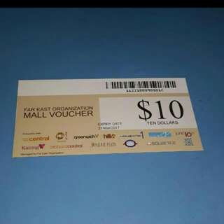Looking for Far East Mall voucher