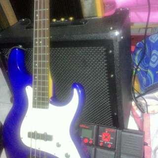 Bass Guitar Bass Amp+ Zoom Effects