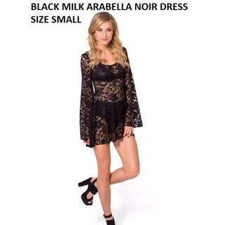 BlackMilk Arabella lace bellsleeve dress Blackmilk