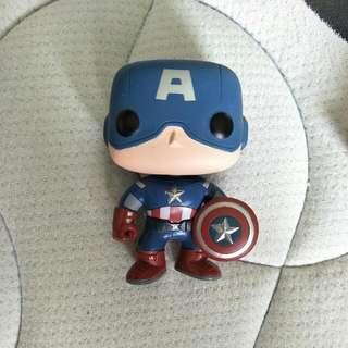 Captain America Pop Funko Bobble Heads
