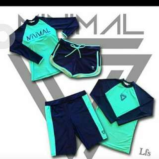 Couple Rashguard 599 set