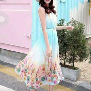 Maxi Dress for Summer S to L size