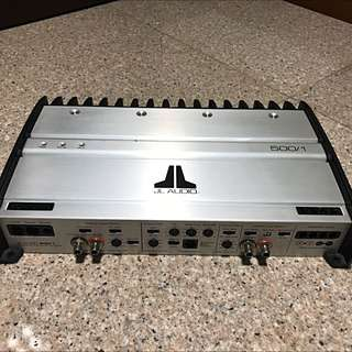 JL Audio 500/1 Car Amp
