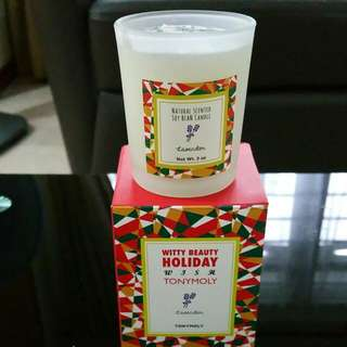 Tony Moly Natural Scented Lavender Candle