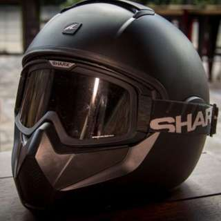 法國 SHARK 『 vancore 』Mat 全罩 安全帽 (消光黑) - 可交換同等值物品