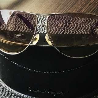 香奈兒正品紫色太陽眼鏡