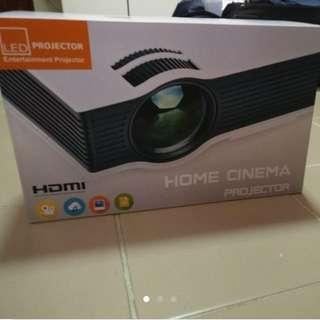Unic UC40 1080p Projecter Wifi Hdmi White Color