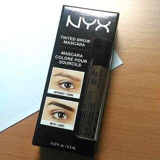 降價!全新未拆封!Nyx Tintend Brow Mascara 染眉膏
