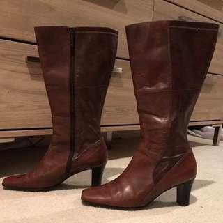 Andrea Renzi Knee High Boots