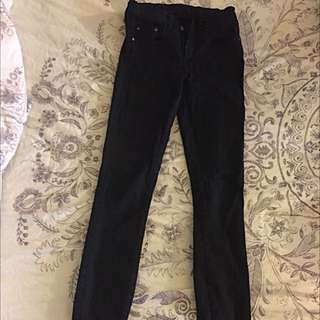 Nobody Black High Waisted Jean Size 24