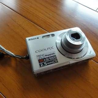 Nikon COOLPIX S200 零件機