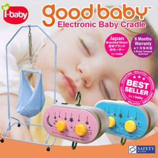 Goodbaby Electric Baby Cradle i-baby Easy operate speed adjustable SiapPos