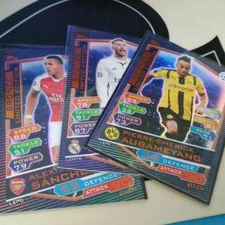 Match Attax Champions League 2016/2017