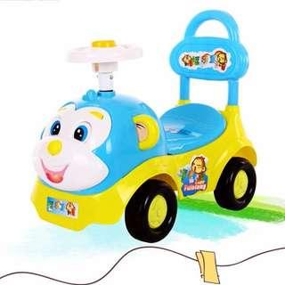 Babyland Baby Cute Monkey Ride On car tolocar toddler car